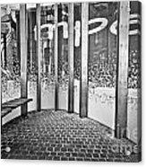 Alphabet Soup Acrylic Print