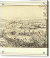Alphonse Legros, Valley In Bourgogne Une Vallee En Bourgogne Acrylic Print