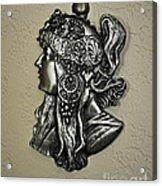 Alphonse Mucha 1860-1939 New Profile Acrylic Print