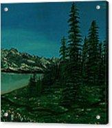 Alpine Garden Acrylic Print