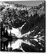 Alpine Lake August 1975 #1 Acrylic Print