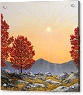 Alpine Meadow II Acrylic Print