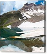 Alpine Reflection In The San Juans Acrylic Print