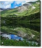 Alpine Reflections Acrylic Print