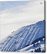 Alps Profile Acrylic Print
