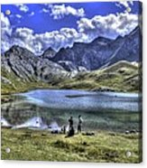 Alps South France Acrylic Print