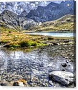 Alps Southern France Acrylic Print