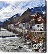 Alps Vicinity Acrylic Print