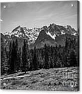 Alpspitze Till Zugspitze II Acrylic Print