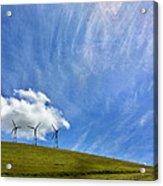 Altamont Windmills Acrylic Print