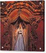 Altar And Madonna Acrylic Print