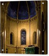 Altar And Pulpit Of The Collegiale De Neuchatel Acrylic Print