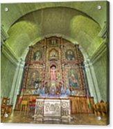 Altar In An Old Chapel Acrylic Print