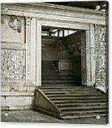 Altar Of Peace Of Augustus. 13 Bc Acrylic Print