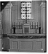 Altar Of The Dead... 01 Acrylic Print