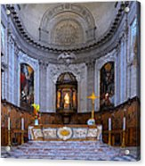 Alter At St Martins Cathedral Acrylic Print