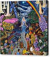 Alto Cielo Acrylic Print by Pablo Amaringo