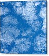 Altocumulus Cloud. Acrylic Print
