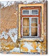 Alvor Window Acrylic Print