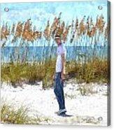 Cool On Anna Maria Island Acrylic Print