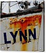 Alynn Acrylic Print by Mamie Gunning