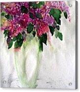 Alyvos - Lilacs Acrylic Print