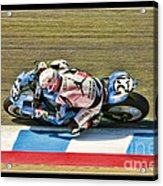 Ama Superbike Danny Eslick Acrylic Print