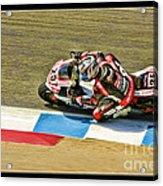 Ama Superbike David Anthony Acrylic Print