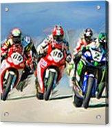Ama Superbike Grid Acrylic Print