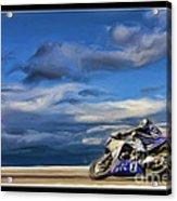 Ama Superbike Josh Jayes Acrylic Print