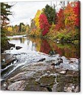 Amable Du Fond Autumn Acrylic Print