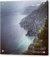 Amalfi Coast And Beyond Acrylic Print by H Hoffman