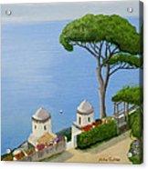 Amalfi Coast From Ravello Acrylic Print