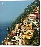 Amalfi Coast Hillside II Acrylic Print