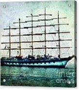Amalfi Coast.royal Clipper  Acrylic Print