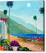 Amalfi Colors Acrylic Print