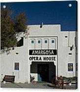 Amargosa Opera House Death Valley Img 0021 Acrylic Print