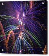 Amazing Beautiful Fireworks Acrylic Print