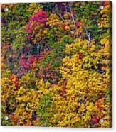 Amazing Cloudland In The Fall Acrylic Print