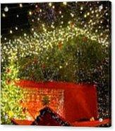 Amazing Christmas Lights Acrylic Print