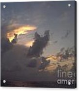 Amazing Clouds At Sunset Acrylic Print