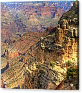 Amazing Colors Of The Grand Canyon  Acrylic Print