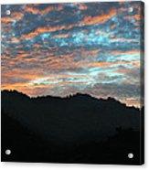 Amazing Evening Sky Acrylic Print