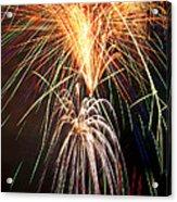 Amazing Fireworks Acrylic Print