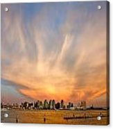 Amazing San Diego Sky Acrylic Print by Peter Tellone