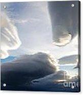 Amazing Skies Over Puerto Natales Chile Acrylic Print