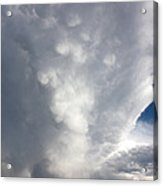 Amazing Storm Clouds Acrylic Print