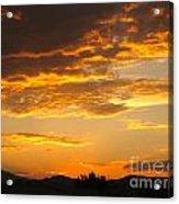 Amazing Sunset Acrylic Print
