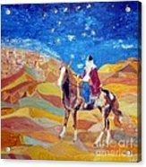 Amazon In A Desert Acrylic Print