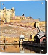 Amber Fort - Jaipur India Acrylic Print